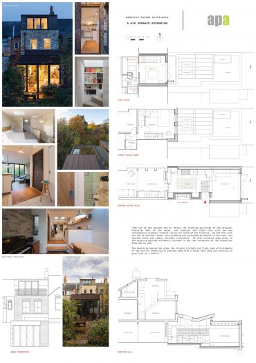 THE BUTTERFLY HOUSE – A MID TERRACE EXTENSION IN CAMBRIDGE